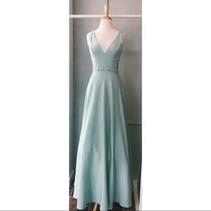 Sage Long Gown